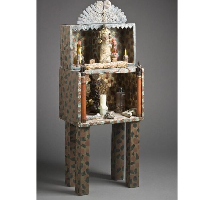 Happy birthday to artist Betye Saar, born #OnThisDay in 1926!  Best known for her assemblage works that address issues o…